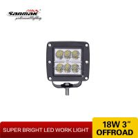 6186 18w LED work light