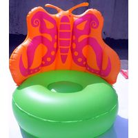 pvc inflatable batterfly sofa for kids