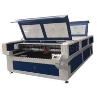 GW1325 enclosed metal nonmetal laser cutting machine