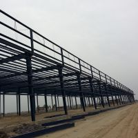 Jumbo Light steel frame cold stroage room, prifabricated steel structure warehouse. thumbnail image