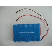 Battery Pack with 18650 6S1P 22.2V 2600mAh thumbnail image
