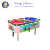 China Supplier Earn Money Coin Operated Games Naughty Beans Redemption Arcade Game Machine,Beat Bean