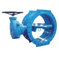 Double Eccentric Butterfly ValvePtfe Lined Butterfly Valve Double Flange Butterfly Valve  thumbnail image