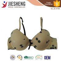 printed bra with fancy design for girl wholesale bra,low price and comfortable inner wear