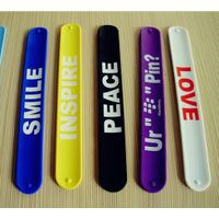 Silicone World Cup Promotional Slap Bracelets