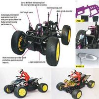 RC Toy Car-1:10 R/C Gas Powered Off-Road ATV thumbnail image