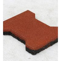 OYT0100 Small dog bone rubber tile thumbnail image