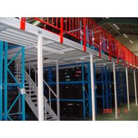 Steel Mezzanine used for office and storage both