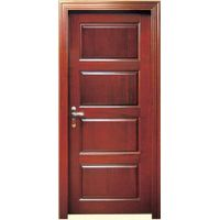 Cheap price solid wood door, oak wood door YHC-1313