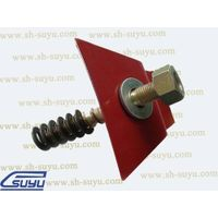 Nabla clip-elastic rail clip(resilient rail fastener) used in rail construction for fixing rail and