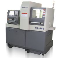 SZ-12E single spindle swiss type automatic lathe slant bed sliding head lathe
