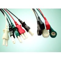 Spacelabs one piece 5 lead ecg cable with leadwires