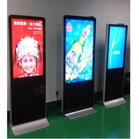 "55"" inch HD milti-media Android Grounded AD Player, TFT-LCD LED backlight"