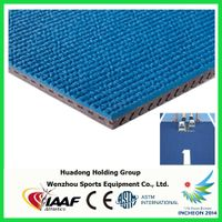 Athletic Track Material Rubber Flooring