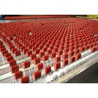 metallized 225k 250v polyester film capacitor,105j 250v metallized polypropylene film capacitor