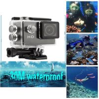 COMVEA 1080P Full HD Screen & Ultra Slim Action Camera with WIFI Function