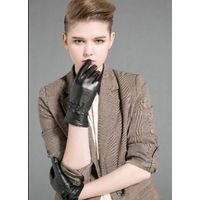 sheep skin leather gloves for woman thumbnail image