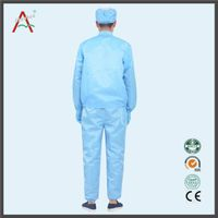Stripe ESD Conductive Colorful Antistatic Fabric jumpsuit