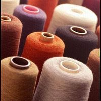 worested cashmere yarn