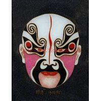 Cloisonne Handicraft Painting Peking Opera Masks Cute Home Decor thumbnail image