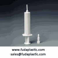 13ml plastic veterinary injection syringe