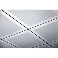 lay-in square ceiling panel construction material