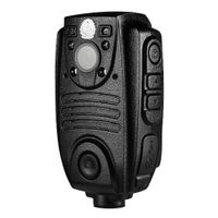2inch 1080P HD police body worn camera