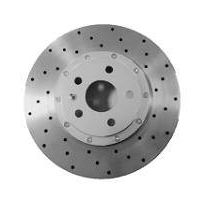 "Premium Aluminum Brake ROTORs 16"" Front -Hole Type"