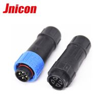 m16 4 pin male and female waterproof connector
