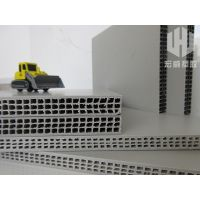 Reusable PP hollow plastic construction formwork