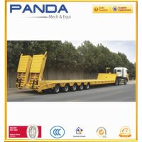 Pandamech lowbed semi trailer
