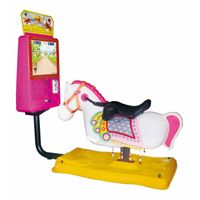 "Coin Operated Swing Kiddie Rides Rocking with 17""Video Game- Dream Horse"