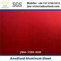 Emobssed Anodic Aluminum Sheet, Anodized Aluminum Coil, Aluminum Luggage and Bags Materials thumbnail image