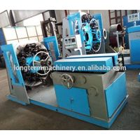 Horizontal stainless steel wire braiding machine