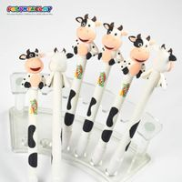 Promotional polymer clay animal shape cow pen