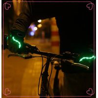 Half Finger Led flashing Mountain Bike Gloves