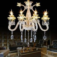 high quanlity  modern chandelier led crystal pendant lighting for shop  indoor light