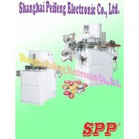 the gold coin chocolate knurling and sealing wrapping machine