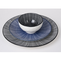 hot sale pad printing porcelain dinner ware set Europe style style