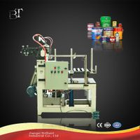 Automatic round tin can forming machine