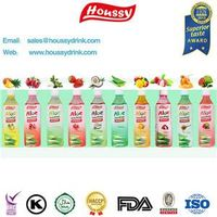 Houssy mango flavored aloe vera drinks