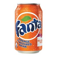 [THQ VIETNAM] Fanta orange 330ml Can