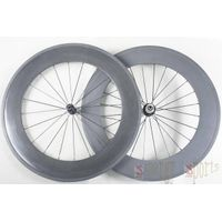 full carbon wheel clincher 88mm 700c
