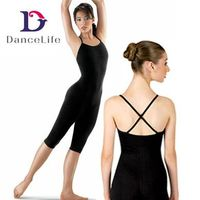 C2621 Girls Capri Gymnastic & Ballet Dance Unitards Ballet Girls Unitards Costume Spandex Unitards