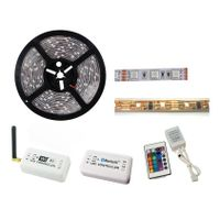 5m 5050 12V White High Lumen LED Flexible Strip WiFi Bluetooth Remote