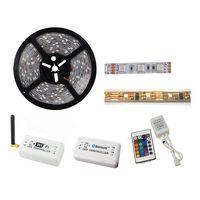 5m 5050 12V White High Lumen LED Flexible Strip WiFi Bluetooth Remote