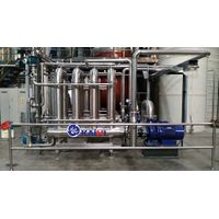 Membrane equipment for filtration in production or wastewater treatment