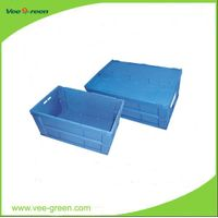 Cheap Large Plastic Folding Storage Box for Shipping