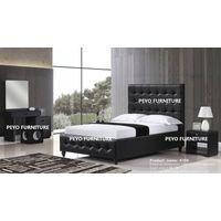Modern leather bedroom sets