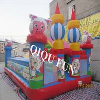 China style inflatable castle for kids fun